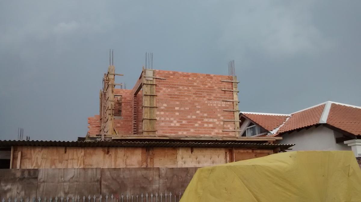 Construção da escada
